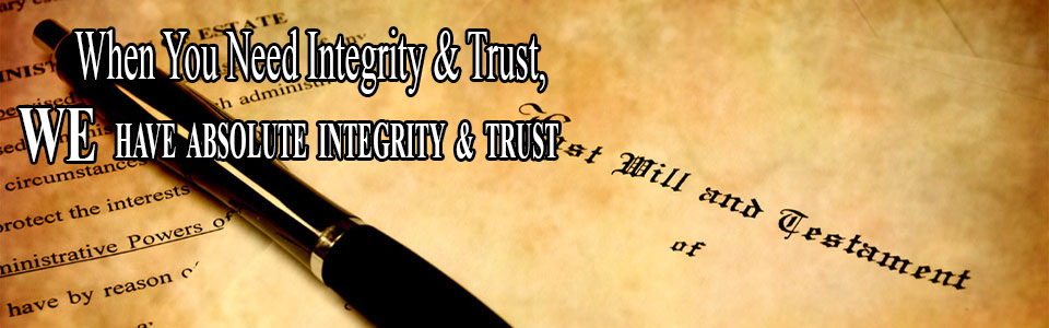 A business lawyer with integrity and trust